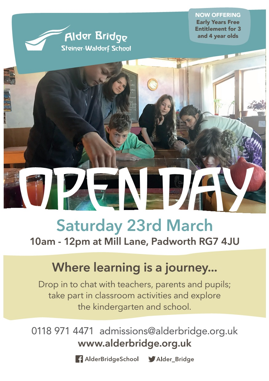 Open Day March 2019