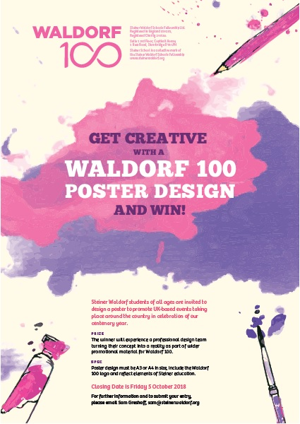 Waldorf 100 Poster Competition